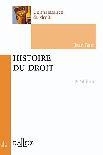 9782247047550: Histoire du droit