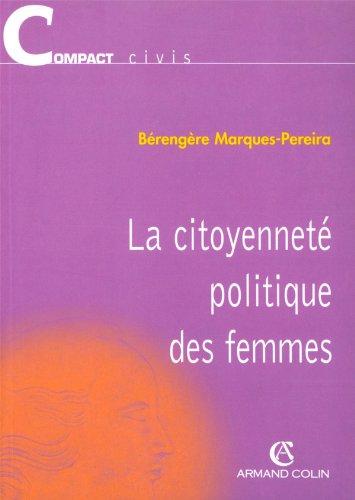 9782247049035: La citoyenneté politique des femmes