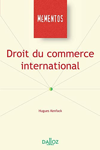 9782247049677: Droit du commerce international