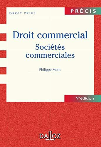 9782247050895: Droit commercial : Sociétés commerciales