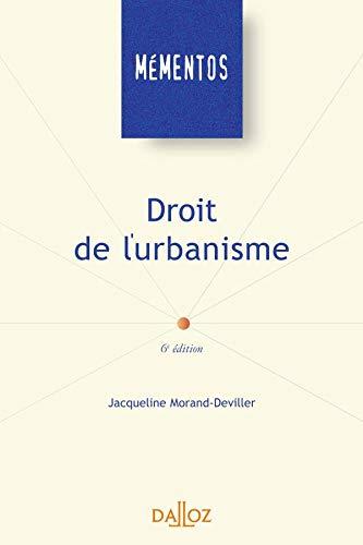 Droit de l'urbanisme: Morand-Deviller, Jacqueline
