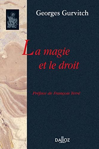 9782247052264: La Magie et le Droit