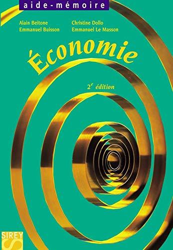9782247055159: Économie - 2e ed. (Aide-mémoire)