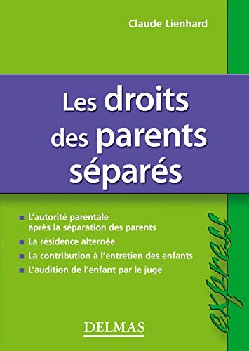 9782247060078: Le droits des parents séparés