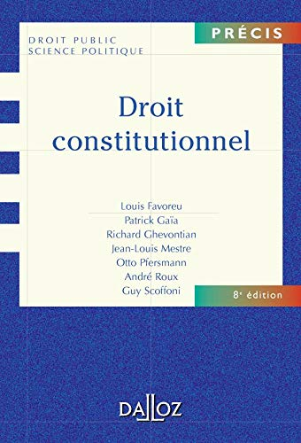 9782247062058: Droit Constitutionnel