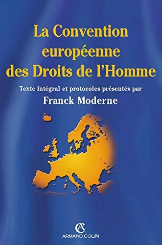 9782247062805: La convention européenne des Droits de l'Homme
