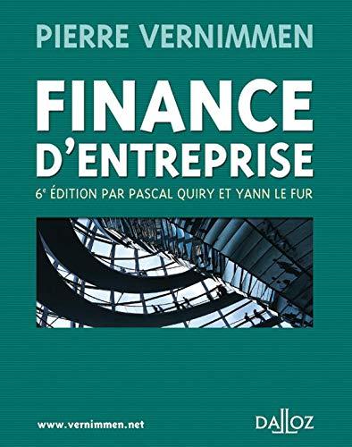 9782247063260: Finance d'entreprise