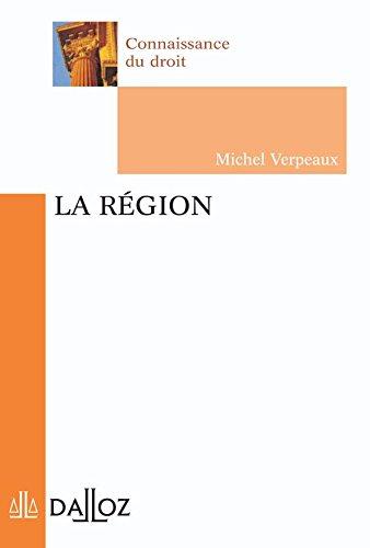 9782247063499: La r�gion