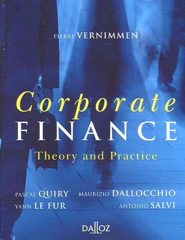 9782247063918: Corporate finance : Theory and practice
