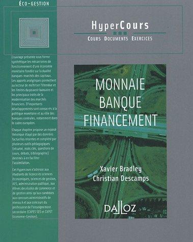 9782247064328: Monnaie Banque Financement (French Edition)