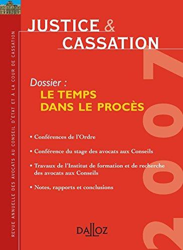 9782247065707: Le temps dans le procès (French Edition)