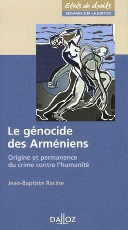 9782247066223: Le génocide des Arméniens (French Edition)