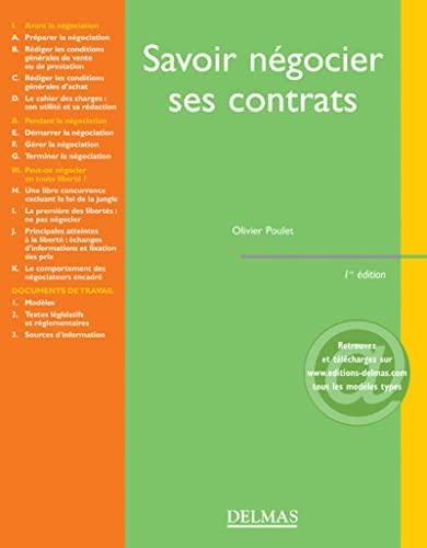 9782247066452: Savoir n�gocier ses contrats