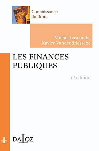 9782247068210: Les finances publiques