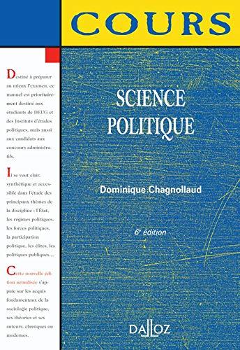 9782247068258: Science politique : El�ments de sociologie politique. Edition 2006