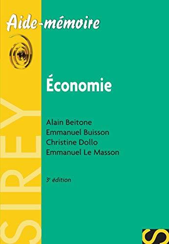 9782247068395: Economie