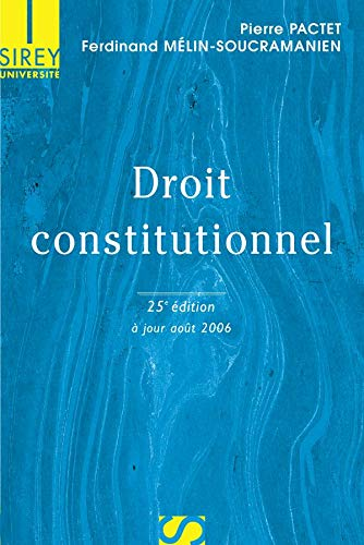 9782247069316: Droit Constitutionnel