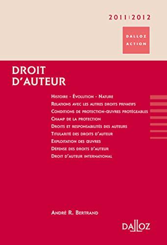 Droit d'auteur (French Edition): DALLOZ