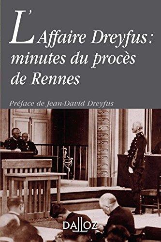 9782247070060: L'Affaire Dreyfus : minutes du procès de Rennes