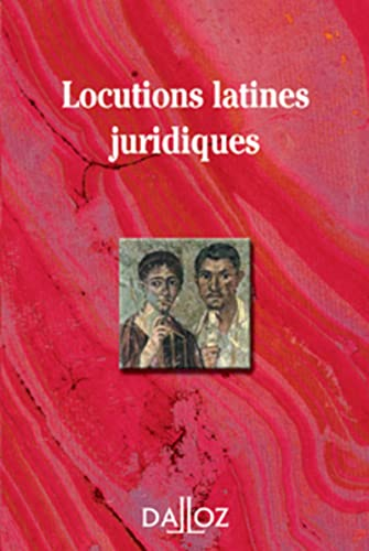 9782247070787: Locutions latines juridiques