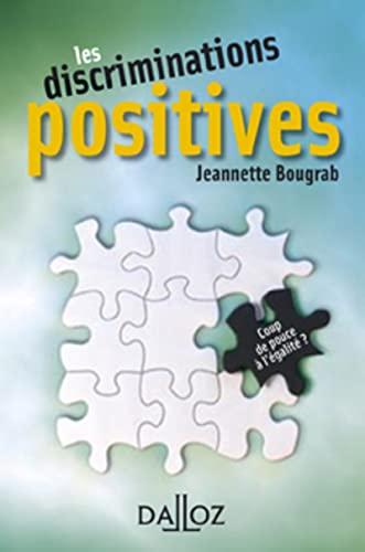 Les discriminations positives. Coup de pouce à: Jeannette Bougrab