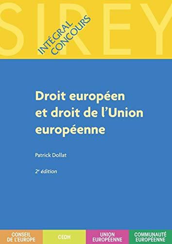 9782247075485: Droit européen et droit de l'Union européenne