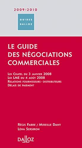 9782247078615: Le guide des n�gociations commerciales 2009-2010