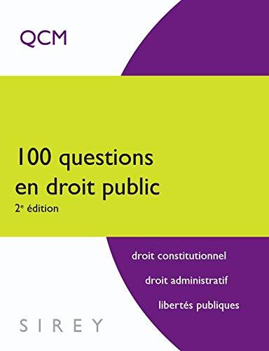 9782247079452: 100 Questions en droit public (French Edition)