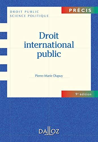 9782247080366: Droit international public (Pr�cis droit public)