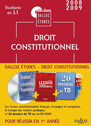 9782247080663: Droit constitutionnel : CD Rom