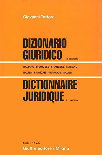 9782247081417: Dictionnaire juridique : Edition bilingue fran�ais-italien/italien-fran�ais