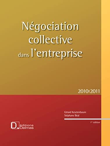 9782247081943: Négociation collective dans l'entreprise (French Edition)