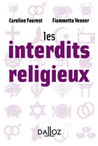 9782247084159: Les interdits religieux - 1ère édition