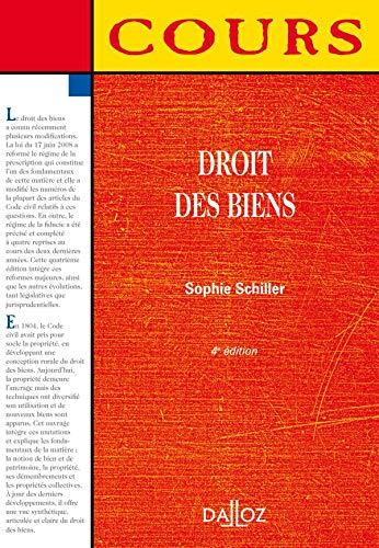 Droit des biens (French Edition): Dalloz-Sirey