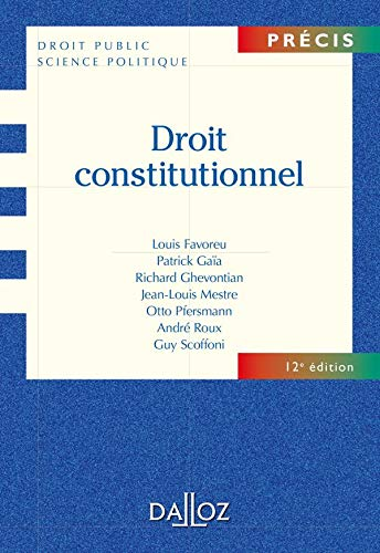 9782247084487: Droit constitutionnel