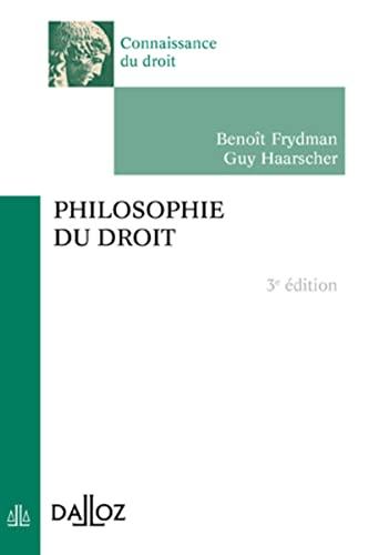 9782247087914: Philosophie du droit - 3e �d.: Connaissance du droit