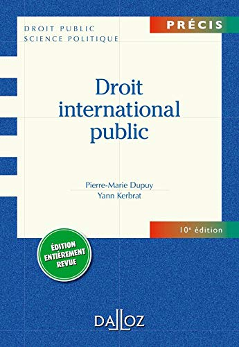 9782247088935: Droit International Public (French Edition)