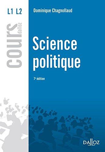 9782247089161: Science politique - 7e éd.: Cours