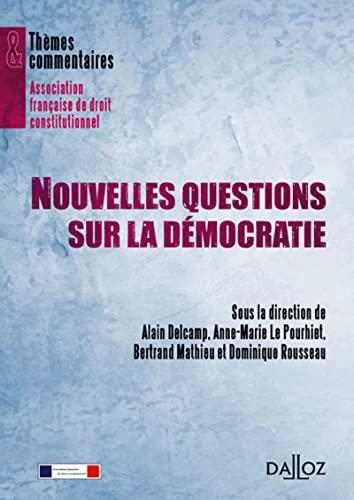 9782247089307: Nouvelles questions sur la démocratie