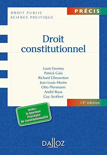9782247089758: Droit constitutionnel