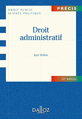 9782247089765: Droit administratif - 23e éd.