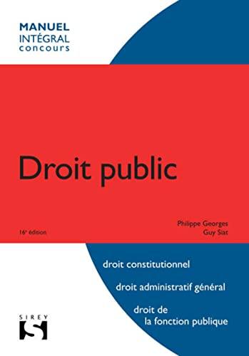 9782247089796: Droit public - 16e �d.: Int�gral concours