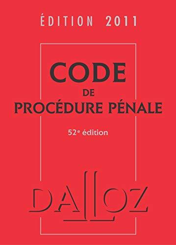 Code de procédure pénale 2011: Jean-François Renucci et