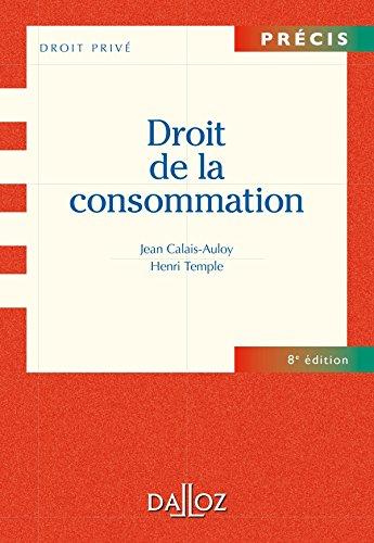 9782247090457: Droit de la consommation (French Edition)