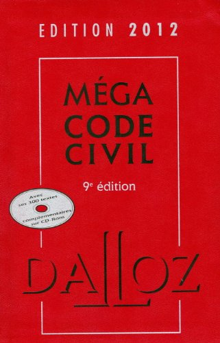 méga code civil (édition 2012): Collectif