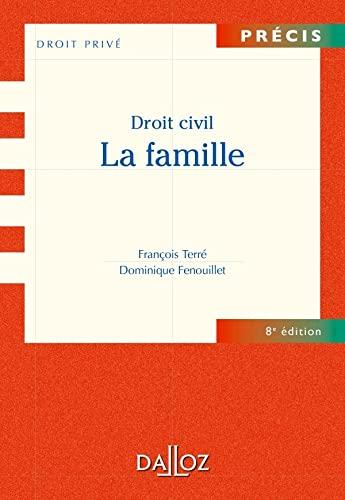 9782247106738: Droit civil La famille - 8e �d.: Pr�cis