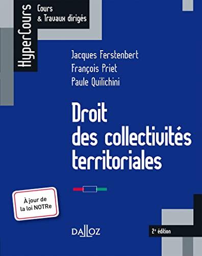 9782247109951: Droit des collectivités territoriales - 2e éd.: HyperCours