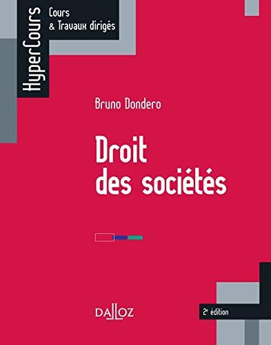 9782247109982: Droit des sociétés - 2e éd.: HyperCours