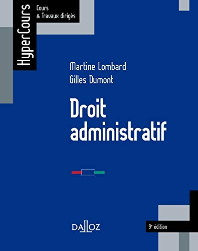 9782247110032: Droit administratif - 9e �d.: HyperCours