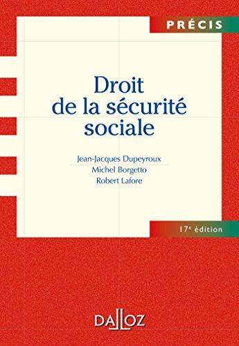 9782247110131: Droit de la sécurite sociale - 17e éd.: Précis